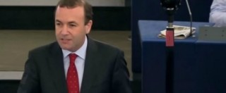 """Italia-Ue, il Ppe: """"Renzi mette a rischio la credibilità dell'Europa a vantaggio del populismo"""""""
