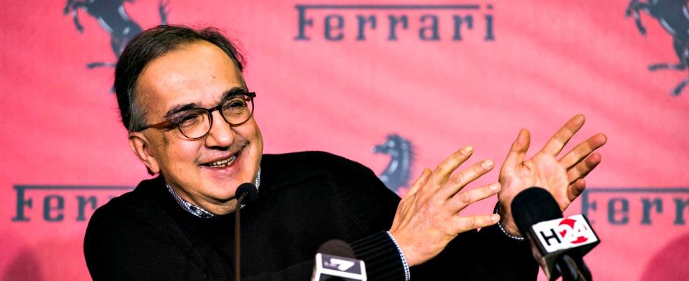 Ferrari, Marchionne pensa di aumentare la produzione da 7.000 a 9.000 l'anno