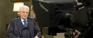"""Mattarella scrive al Papa: """"Politica decisiva, tuteli le frange più deboli"""""""