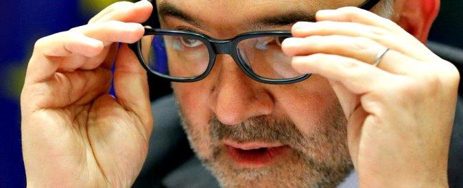"""Renzi, Moscovici: """"Roma riduca il debito"""". Juncker: """"Nessun problema con l'Italia, a volte si usano parole maschie e virili"""""""