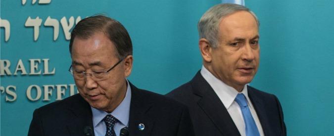 """Netanyahu attacca Ban Ki-moon: """"I suoi commenti incoraggiano il terrorismo"""""""