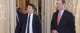"""Renzi: """"L'Italia sta tornando, se ne faccia una ragione chi ci vorrebbe marginali"""""""