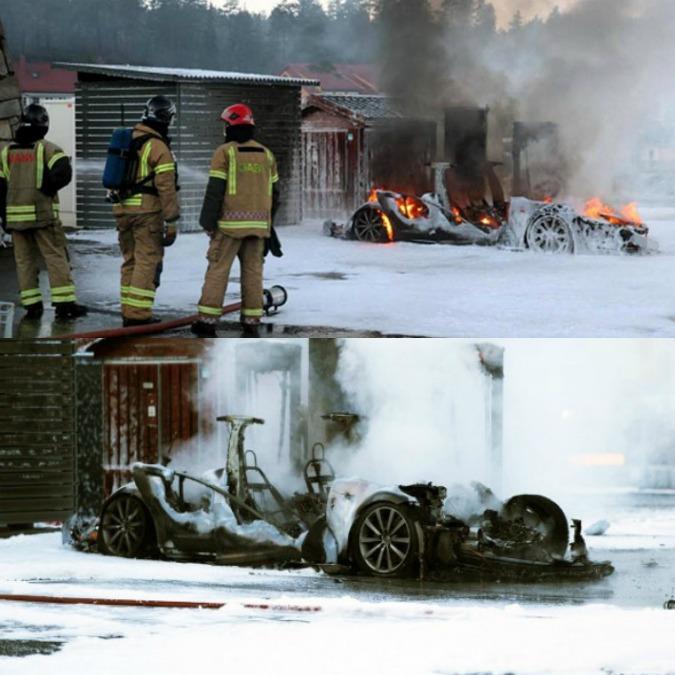 Tesla Model S prende fuoco durante la ricarica rapida. Torna l'incubo incendio?