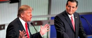 Primarie Usa 2016, corsa a due Trump-Cruz tra i Repubblicani. Ecco perché lo scontro potrebbe segnare la fine del G.O.P.