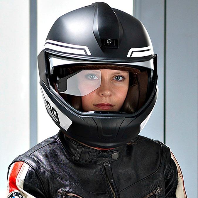 Ces Las Vegas, BMW presenta il casco moto tecnologico con head-up display