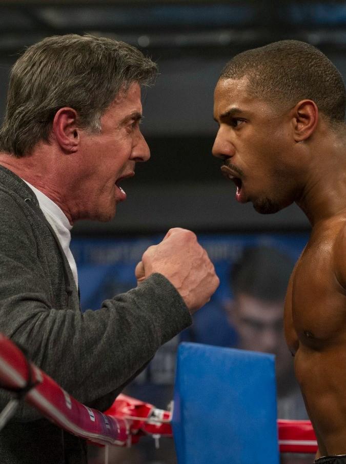 """Creed – Nato per combattere, Sylvester Stallone torna per allenare ma è un """"falso"""" Rocky"""