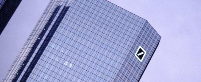 """Deutsche Bank, stampa tedesca: """"Nessun accordo con autorità Usa sulla multa. Verso richiesta danni agli ex vertici"""""""