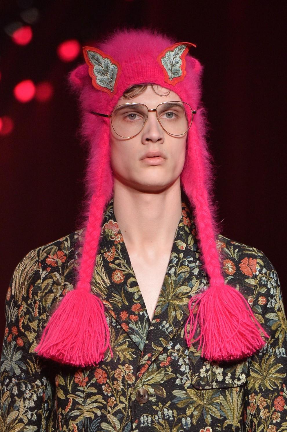 Milano Moda Uomo, i dettagli della sfilata Gucci