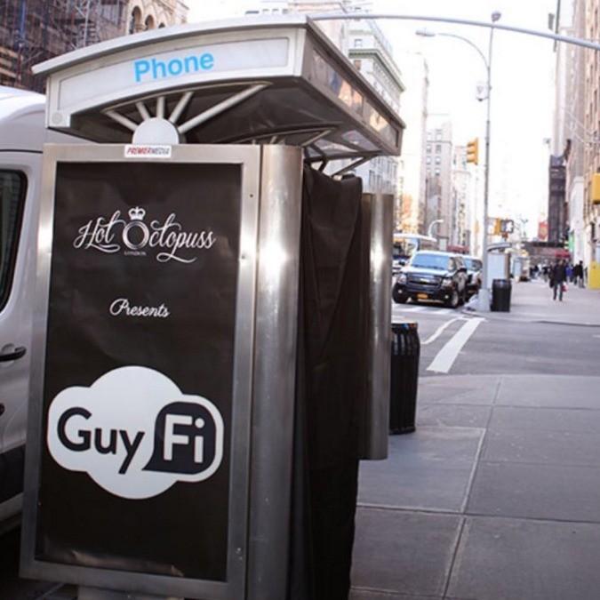 Guy-Fi, ecco le cabine antistress per la masturbazione fast in centro città
