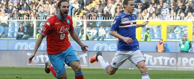 Serie A, il Napoli è in fuga. Il Carpi pareggia San Siro: Inter precipita a sei punti dalla vetta – Video