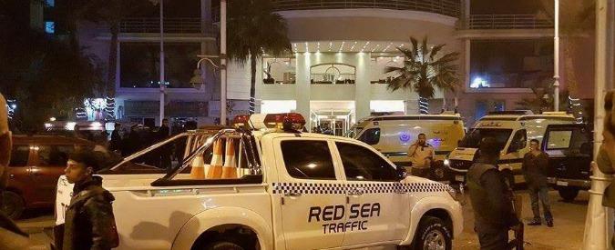 """Egitto, attacco a resort di Hurghada. Il ministero dell'Interno: """"Tre feriti, uccisi i due assalitori. È stata una rapina"""""""