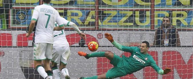 Serie A, Inter – Sassuolo 0 a 1. Ultima d'andata, nerazzurri giocano bene ma cadono nel recupero sul rigore di Berardi – Video