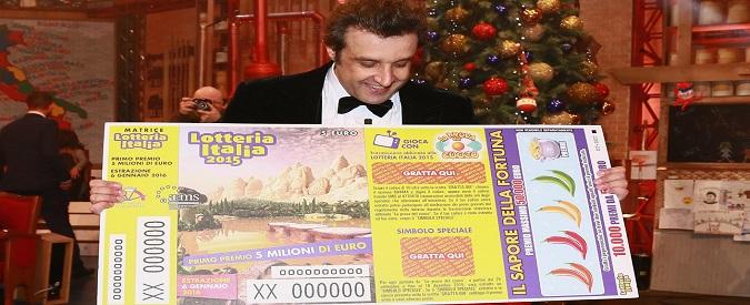 Lotteria Italia 2015 / 2016: i biglietti vincenti e i numeri estratti di seconda e terza categoria