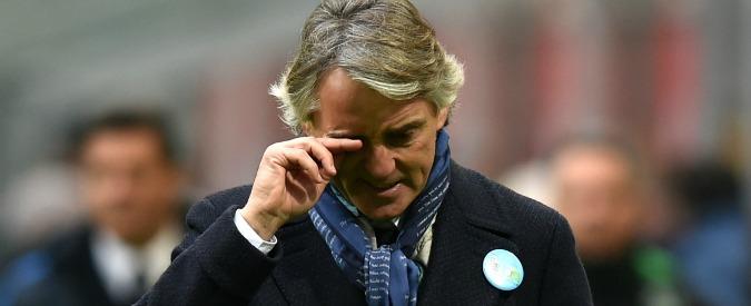 Inter in crisi di risultati, Roberto Mancini stecca e batte cassa. Come al solito – Video