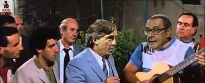 Mancini-Sarri, la lite che divide l'Italia e i social