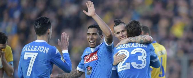 Serie A, risultati e classifica 19° turno. Goleada Napoli: 5 gol al Frosinone e diventa campione d'inverno – Video
