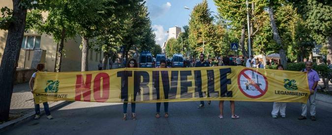 Trivellazioni, l'Abruzzo si sfila dalla partita referendum. La rabbia dei No Triv