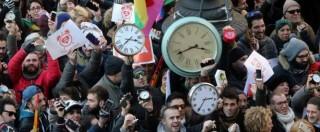 """Unioni civili: """"#SvegliaItalia, l'unica famiglia è quella felice"""": 98 piazze a favore del ddl Cirinnà"""