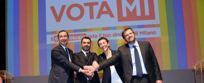 Primarie Milano 2016, primo confronto a quattro. Scontro sui conti di Expo