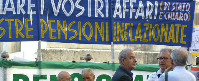"""Pensioni, """"in 2014 beneficiari calati a 16,3 milioni. Assegno medio 1.140 euro, per le donne 6mila euro l'anno in meno"""""""