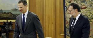 Spagna, Rajoy rinuncia a formare governo e declina la proposta di Felipe VI