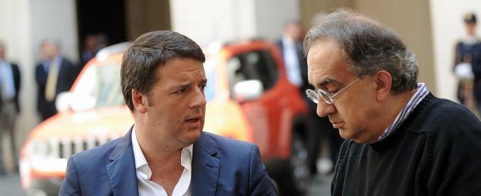 """Fiat Chrysler, Marchionne: """"Essenziale togliere di mezzo i gufi"""". A Mirafiori un altro anno di cassa straordinaria"""