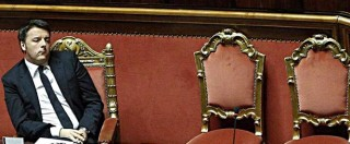 """Riforme, Renzi al Senato: """"Resteranno nella storia d'Europa. Al referendum vedremo con chi starà il popolo"""""""