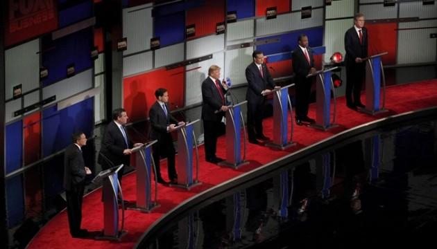 Usa 2016, sette candidati Gop sul palco per dibattito