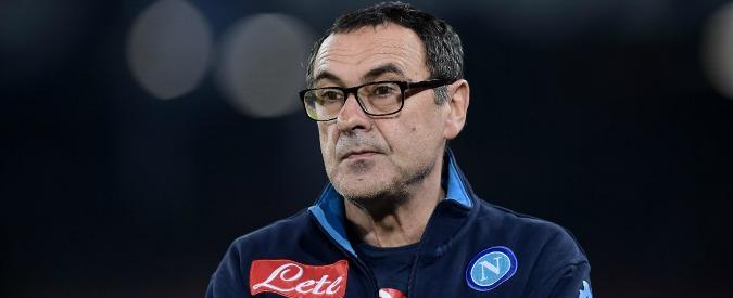 """Mancini-Sarri, Democrazia cristiana querela l'allenatore del Napoli: """"Offesi i nostri valori"""""""