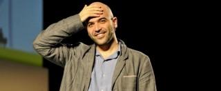 """Arresto Marra, Saviano: """"La Raggi deve dimettersi. Di Battista tace, ma è responsabile come lei"""""""