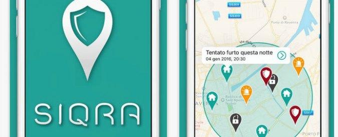 App anti-furti, nasce Siqra per scoprire chi fa rapine e truffe con il passaparola