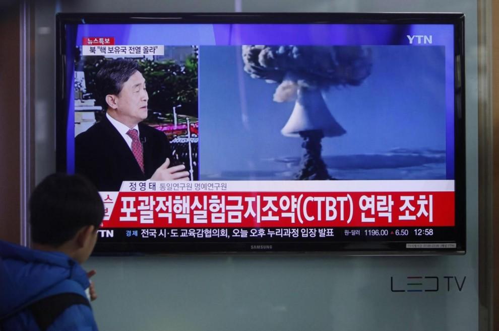"""La Corea del Nord testa la bomba idrogeno. Trump: ?Un attacco"""" Vedremo?"""
