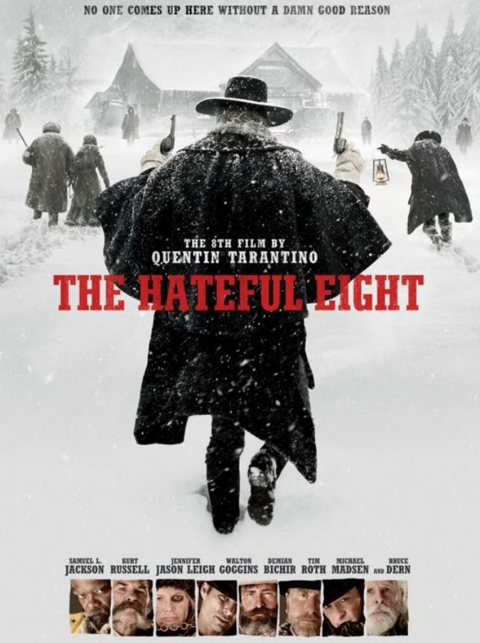 """The Hateful Eight, arriva in sala l'ottavo film di Quentin Tarantino: """"Le Iene formato western, con un chiaro influsso de La cosa di Carpenter"""""""