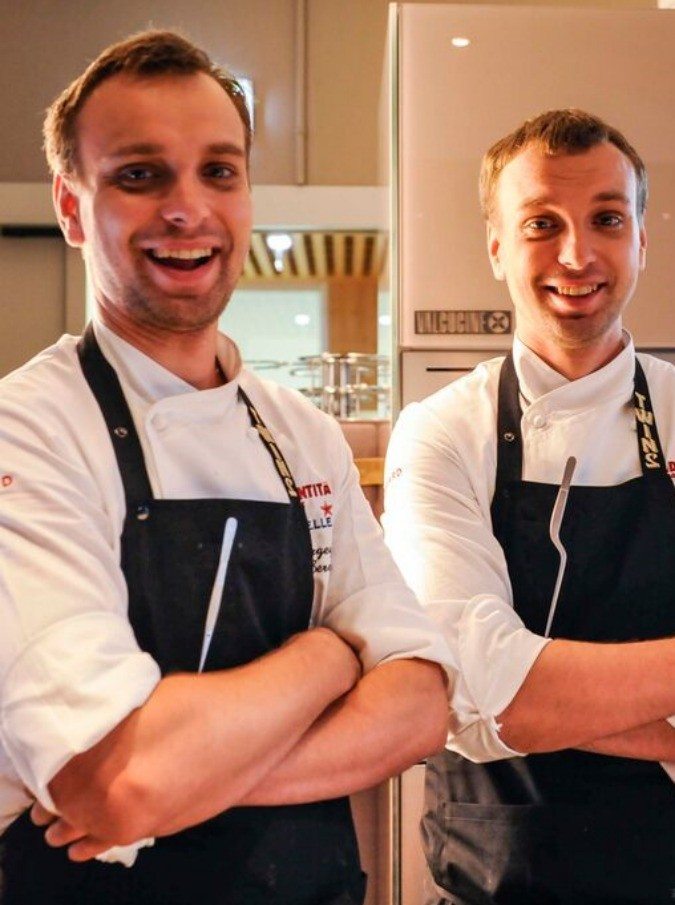 """Ivan e Sergey, i gemelli russi """"alfieri della cucina pre sovietica"""": """"Portiamo in tavola la tradizione del nostro paese, rivisitandola"""""""