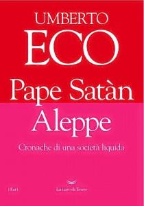 La nave di Teseo libro Eco Pape Satàn Aleppe
