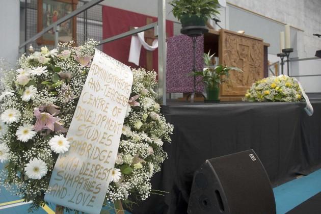 Fiumicello, funerali di Giulio Regeni