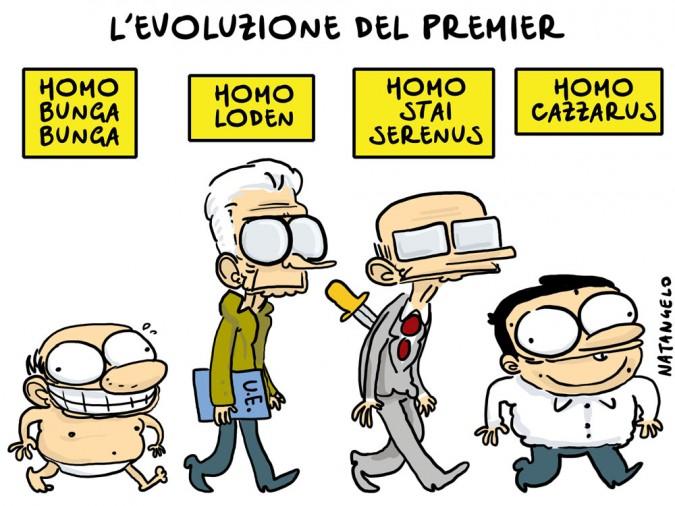L'evoluzione del premier