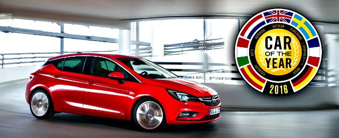 Opel Astra, sei tu l'Auto dell'Anno 2016