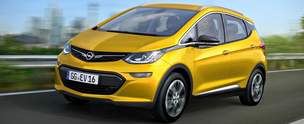 Ampera-e, nel 2017 arriva l'elettrica firmata Opel
