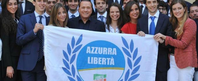 """Forza Italia, i giovani di """"Azzurra Libertà"""" se ne vanno: """"Traditi da Berlusconi"""""""
