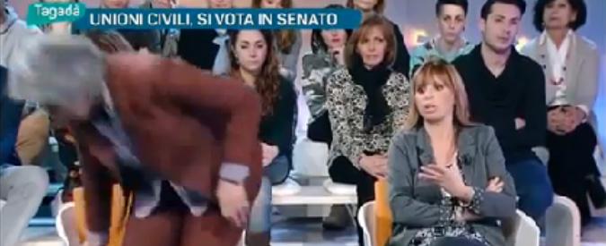"""Maternità surrogata, lite Concia-Mussolini: """"Stai zitta, me ne vado"""". """"Appena parlo la gente scappa"""""""
