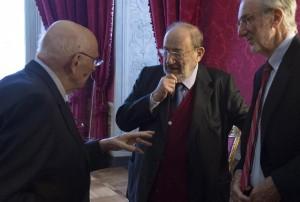 """Quirinale, Napolitano parla ai ragazzi presenti all'incontro """"L'Europa della Cultura"""""""