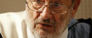 """Umberto Eco, l'addio sui social. Da Pisapia a Grasso l'omaggio tra foto e aforismi: """"Grazie Maestro"""""""