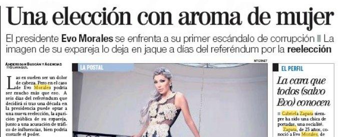 """Bolivia, scandalo Morales: """"Ebbe figlio da una 18enne, oggi dirigente di azienda che prende appalti pubblici milionari"""""""