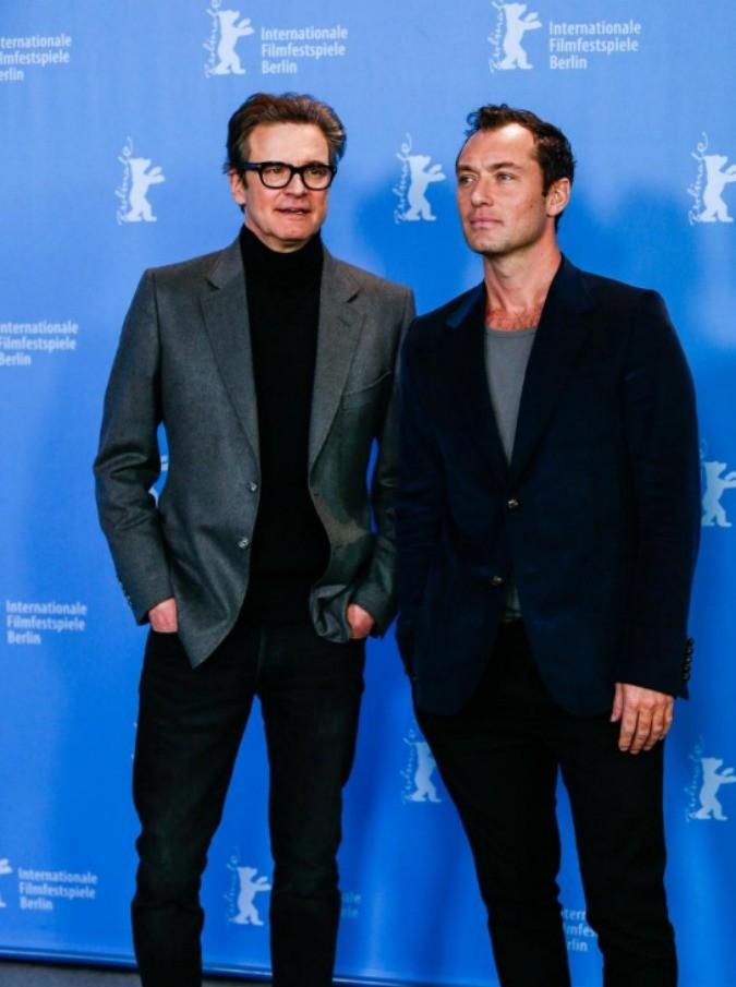 """Festival di Berlino 2016: """"Genius"""" presentato da Firth e Law, gli attori protagonisti del film che celebra il talento letterario di Max Perkins"""