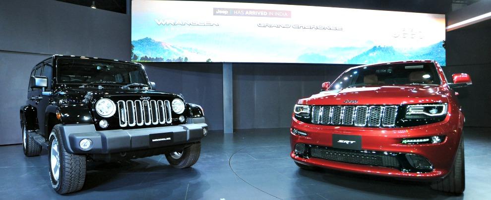 La Jeep sbarca in India: per la prima volta il marchio FCA al Salone di New Delhi