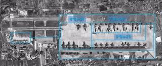 """Siria, """"a Latakia caccia e missili russi"""". Istituto israeliano pubblica foto satellitari. Mosca: """"Così combattiamo jihadisti"""""""