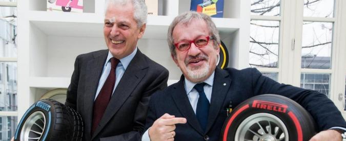 """Inter, rinnovo contratto con Pirelli? Marco Tronchetti Provera nicchia: """"Dipende da certe condizioni"""" – Video"""