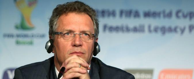 """Fifa, ex segretario generale Jérôme Valcke squalificato per 12 anni: """"Ha agito contro l'interesse della Federazione"""" – Video"""