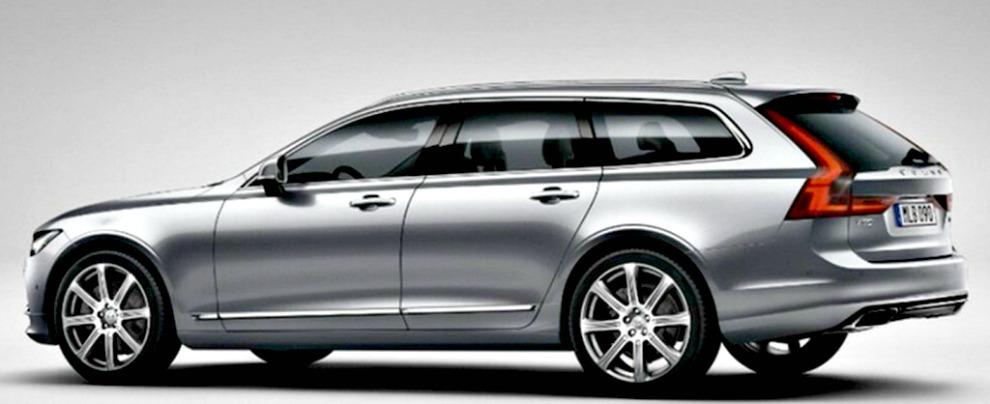 Volvo V90, ritorna la grande tradizione della station wagon alla svedese